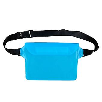 Beach Diving Drifting Swimming Boating Fishing Camping Waterproof Pouch Waist