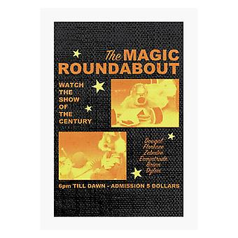 The Magic Roundabout Retro Show Poster A4 Print