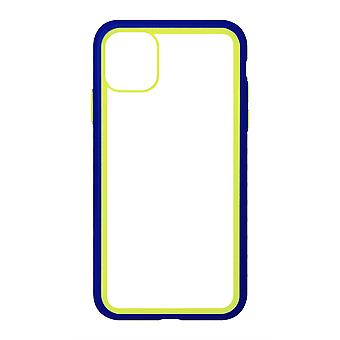 Phone Case (Navy) Clear ShockProof Soft TPU Silicone For iPhone XR