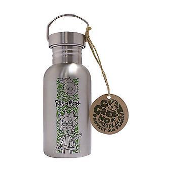 Rick og Morty Portal Eco Flaske