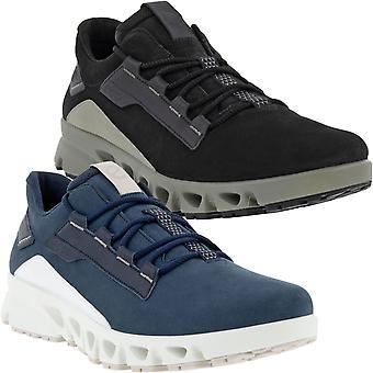 ECCO Uomo Multi Vent Pelle Gore-Tex Outdoor Casual Trainers Sneakers Scarpe