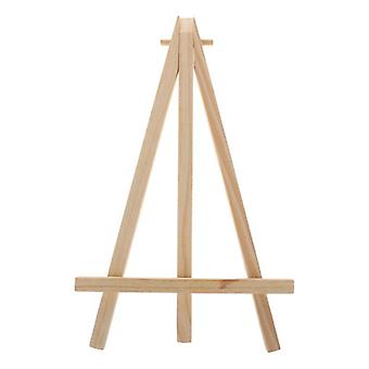 Natural Wood Easel Frame, Tripod Display, Meeting, Wedding Table Number, Name,