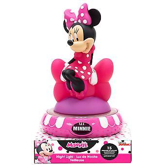 Minnie Mouse 3D Figure LED Night Light Lamp