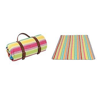 Bærbar utendørs piknik mat strandmatte vanntett camping teppe yspm-125