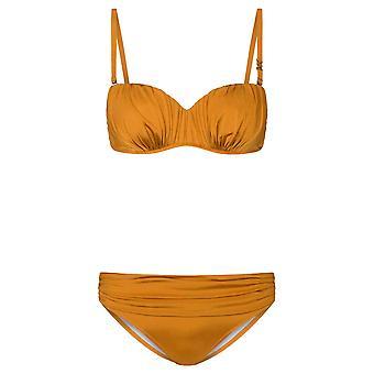 Féraud Voyage 3215005-10028 Women's Gold Bikini Set