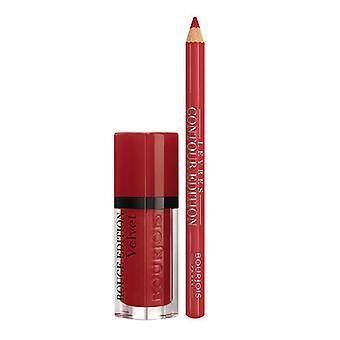 Kvinner 's Kosmetikk Sett Rouge Foundation Velvet Bourjois