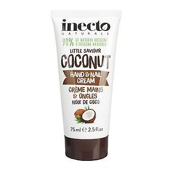 Inecto Naturals Hand and Nail Cream 75ml Coconut