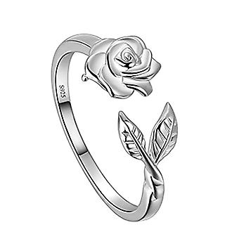 Peacock-shaped ring, pink-shaped, with lizard, for women and girls, in Sterling silver and Base Silver Plated, Ref. 8414858871200(2)