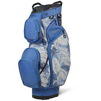 Sun Mountain Ladies Diva Cart Trolley Golf Bag Blue/Tropic Print