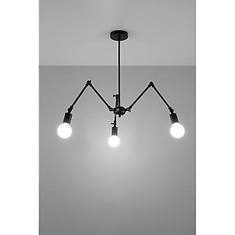 Pendant Lamp Stark 3 Black