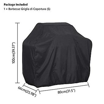 (80*66*100cm)Outdoor Black Waterproof BBQ Cover Weber Heavy Duty Grill Cover Protective