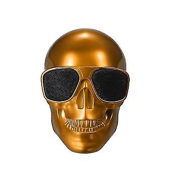 Para esqueleto plástico metálico forma sem fio bt alto-falante WS43464