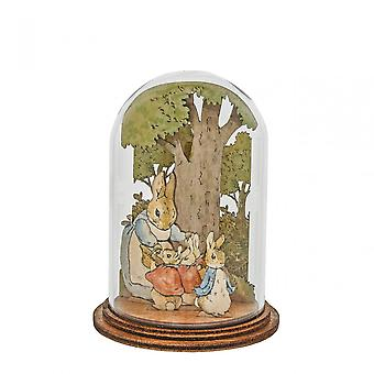 Beatrix Potter Mrs Rabbit With Flopsy/mopsy/cotton Tail And Peter Figurine
