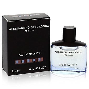 Alessandro dell acqua mini edt spray by alessandro dell acqua 557428 4 ml