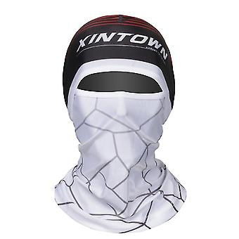 G # sérigraphie à glace couvre-chef, vélo camping pêche masque de protection complète du visage az14089