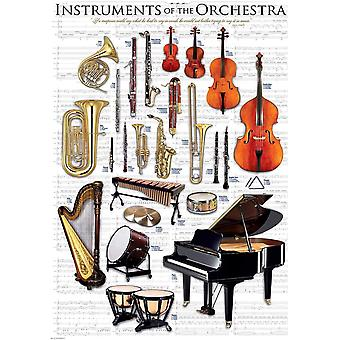Eurographics Instruments of the Orchestra Jigsaw Puzzle (1000 Pièces)