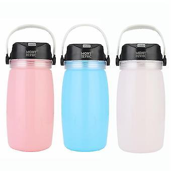 IPRee Camping Light Water Bottle Solar Charging Phone Charging Hervidor de agua al aire libre Deportes Viaje Montaña