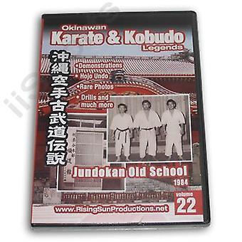 Okinawa Karaté Kobudo #22 Dvd Jundokan Old School 1984 -Vd6979A