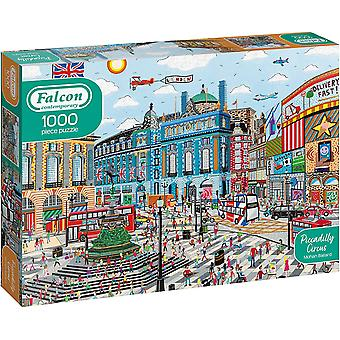 Falcon Contemporary Piccadilly Circus Jigsaw - 1000 Pieces