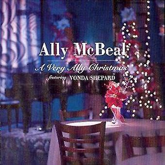 Ally McBeal Um CD de Natal muito aliado (2000)
