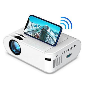 Mini projector 4000 lumens mirror portable