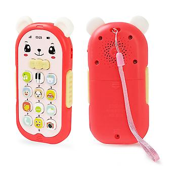 Baby Phone Toy Mobile Telephone Early Educational Learning Machine Kids