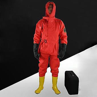 Lumina simplă de control al inundațiilor protejează îmbrăcămintea semi-închisă de protecție chimică