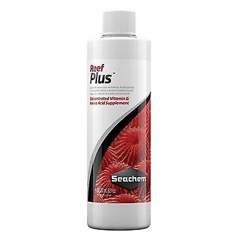 Seachem Reef Plus Concentrated Vitamin & Amino Acid Supplement - 8.5 oz