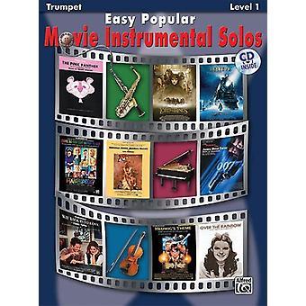 Easy Popular Movie Solos (trumpet/CD)