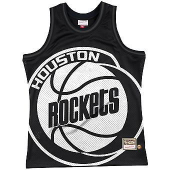 M &N Big Face 3.0 Baschet Jersey HWC Houston Rockets
