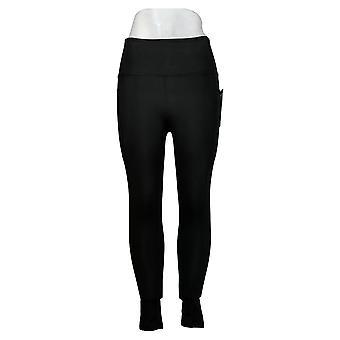 Danskin Leggings Ladies' Super Soft Full Length Black