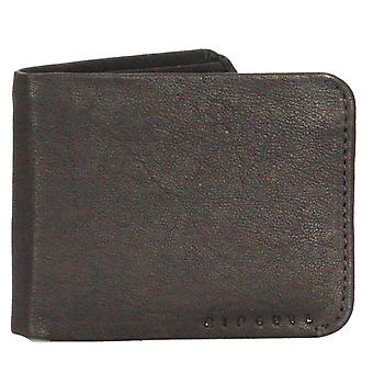 2 Rip Curl Soft Leather Wallets with card, note and coin sections ~ K-Roo bl