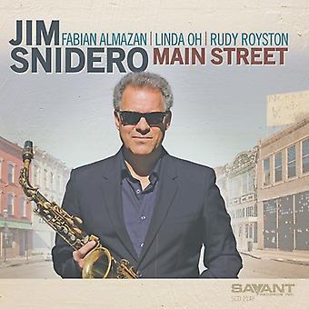 Jim Snidero - import USA Main Street [CD]