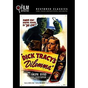 Dick Tracy's Dilemma [DVD] USA import