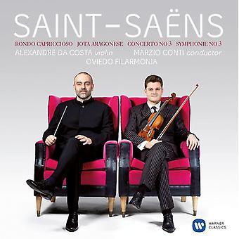 Saint-Saens/Alexandre Da Costa - Vln Con 3 & Sym 3 [CD] USA import