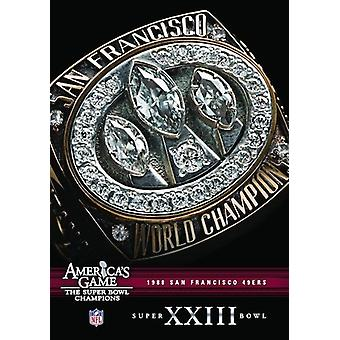 NFL America's Game: 1988 49Ers (Super Bowl Xxiii) [DVD] USA import