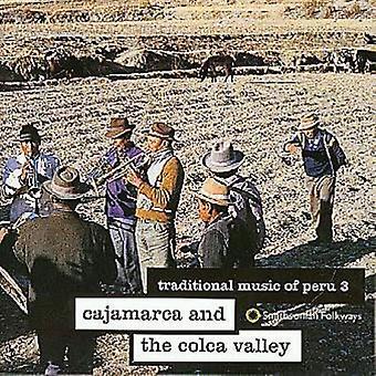 La musique traditionnelle du Pérou - musique traditionnelle du Pérou: Vol. 3-Cajamarca & USA Colca V [CD] importer