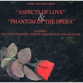 Aspects of Love/Phantom of the Opera - Aspects of Love & Phantom of the Opera [CD] USA import