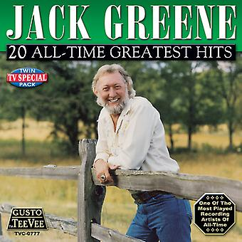Jack Greene - 20 All-Time Greatest Hits [CD] USA import