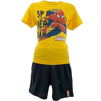 Los chicos maravillan Spiderman Shortie pijamas ME2106