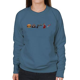 Emoji Pulp Fiction vrouwen Sweatshirt