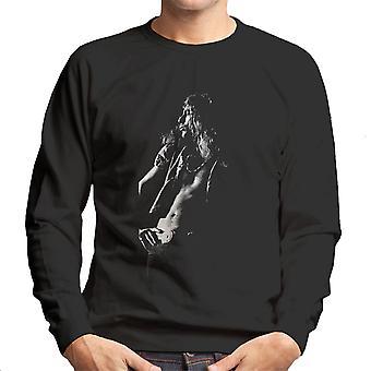 Led Zeppelin Robert Plant Cardiff Capitol Theatre 1972 Men's Sweatshirt