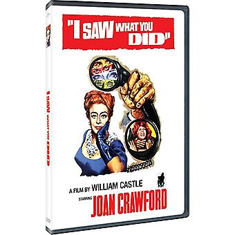 I Saw What You Did [DVD] USA import