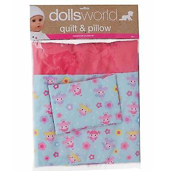 Nuket maailman Deluxe peitto ja tyyny