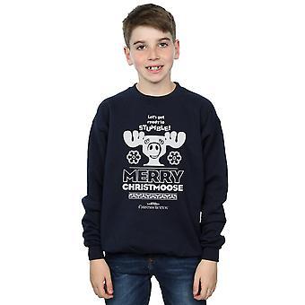 National Lampoon's Christmas Vacation Boys Merry Christmoose Sweatshirt