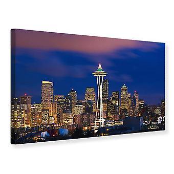 Lona impresión horizonte Seattle
