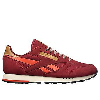 Reebok Class Nylon Whtlt Grey CL Leather Utility Burgundymotor Reds V72845 universal all year men shoes