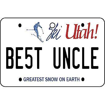 Utah - meilleur oncle License plaque voiture assainisseur d'Air