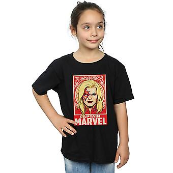 Marvel Girls kapitán Marvel Ornament T-shirt