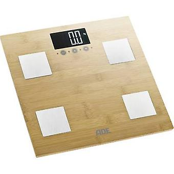 ADE BA 914 Barbara Smart bathroom scales Weight range=150 kg Bamboo